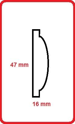 Cornice intagliata m5002d-47