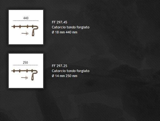 Catenacci FF297 ferro forgiato