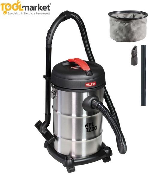 Bidone aspiratutto per polvere e liquidi APL1230 Valex