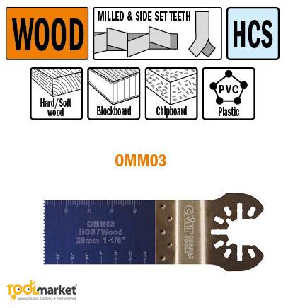Lama multiutensile OMM03 28mm