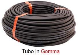 Tubo gomma 8/17 aria compressa