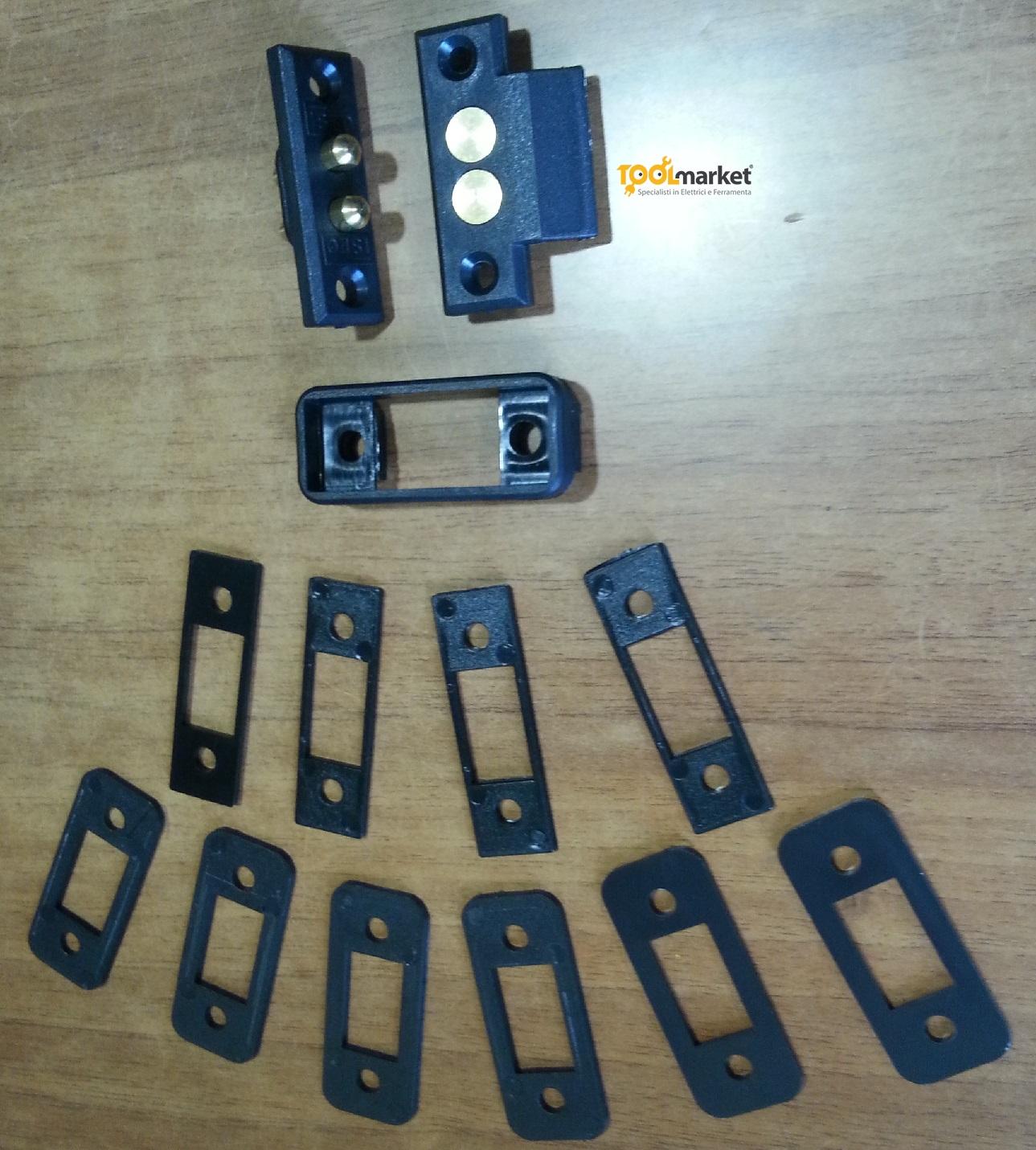 Contatti elettrici per serrature