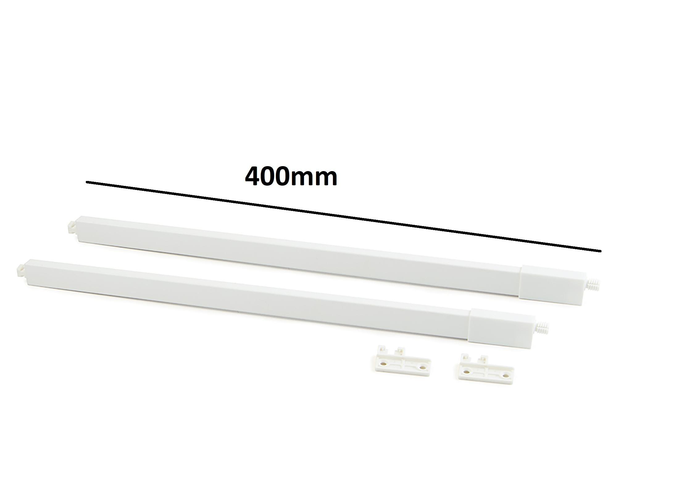 Astine bianche per cassetti modello VERTEX - EMUCA