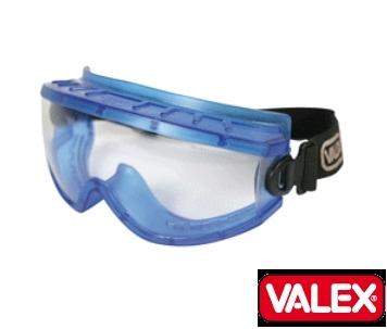 Occhiali maschera trasparente