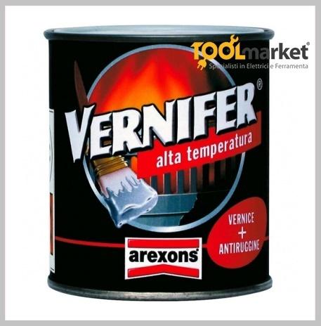 Smalto alta temperatura Vernifer alluminio ml500