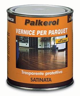 Vernice ad acqua per parquet satinata Palkerol-Veleca