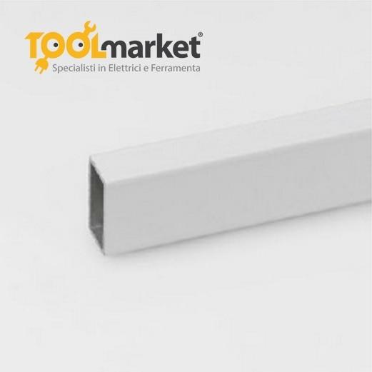 Profilo alluminio rettangolo Anodizzato argento