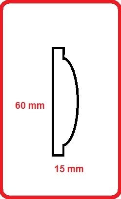 Cornice intagliata m5002md