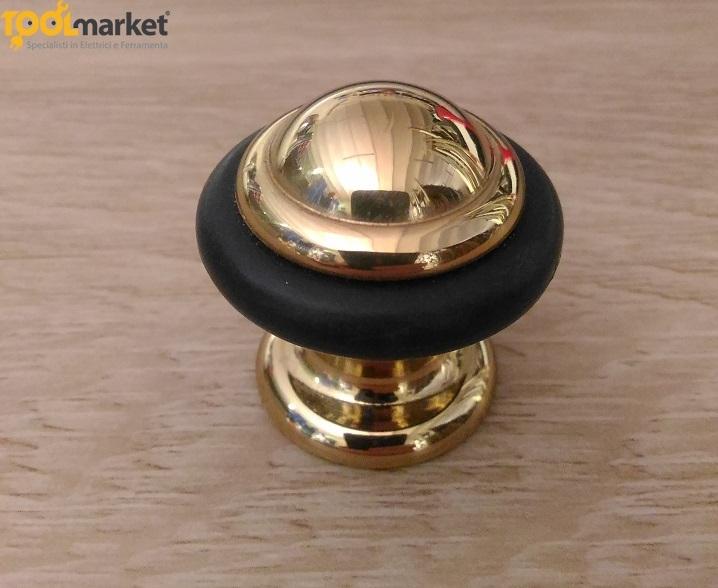 Fermaporta in ottone lucido 25x35 - ELAB