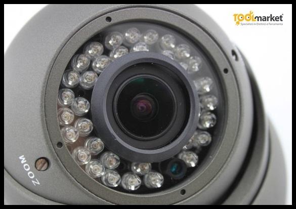 Telecamera DOME varifocale 2,8-12mm