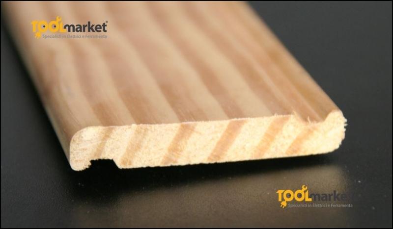 Lamella per persiane in legno pitch pine
