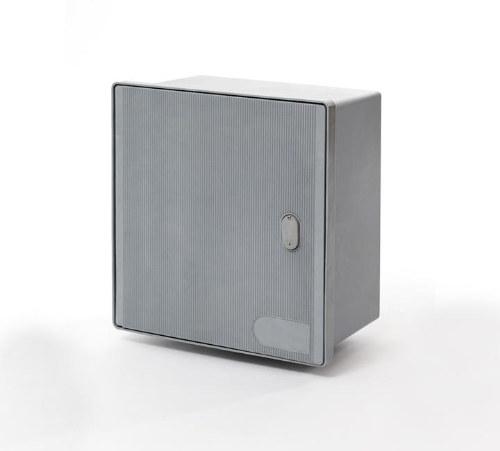 Contenitore per esterno con sportello a filo MONOFASE/TRIFASE