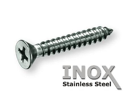 Viti autofilettanti INOX diametro 4.8mm