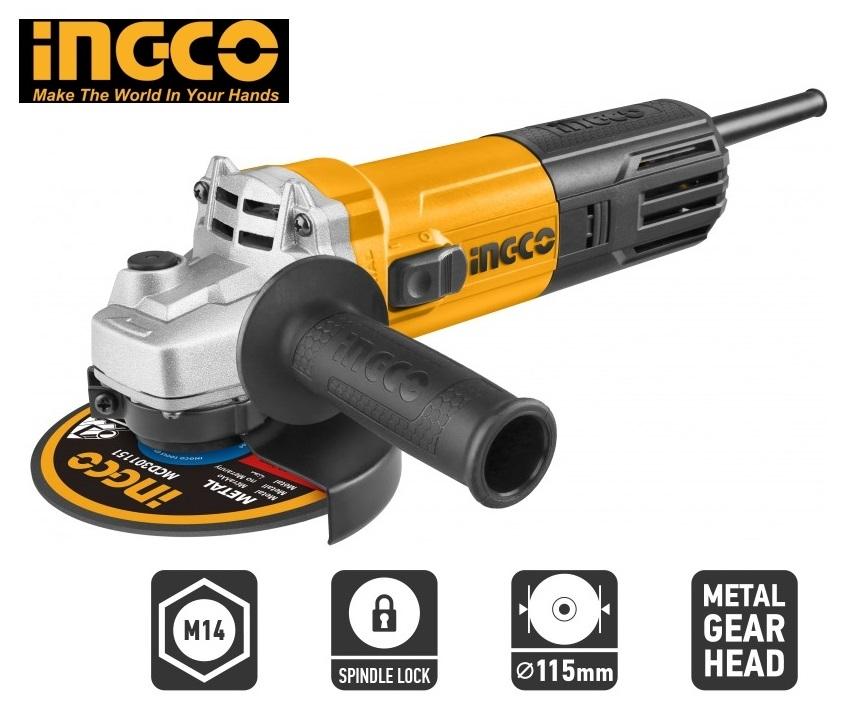 Smerigliatrice angolare modello AG 75018 INGCO