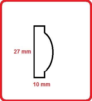 Cornice intagliata m3314