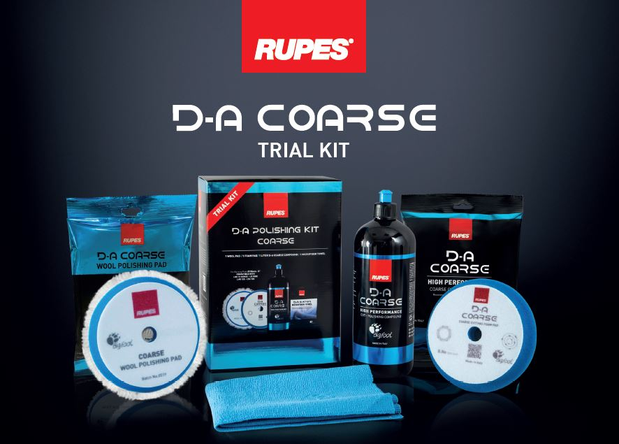 Kit per lucidatura D-A System - RUPES
