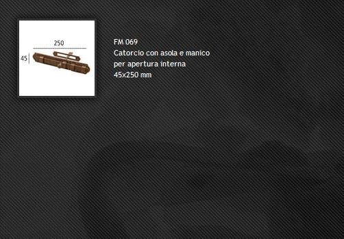 Catenacci FM069 ferro forgiato