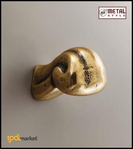Maniglie serie Barocca oro antico