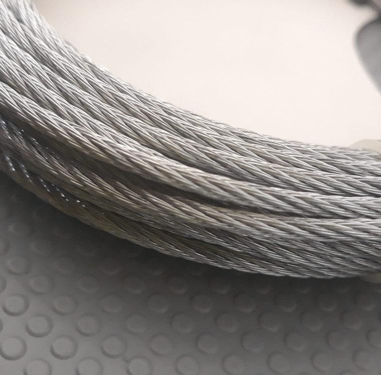 Fune Metallo Zincata Per Tapparelle Ø 2,4 MT  Bobina da 9 Metri