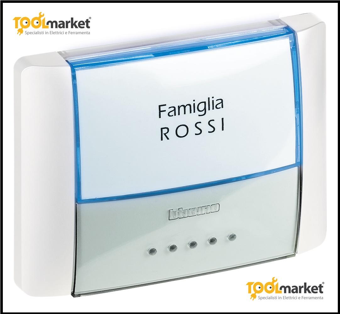 Pulsantiera campanello IP55 Idrobox 26108n