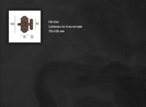 Catenacci FM034 ferro forgiato