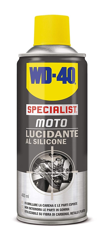 Lucidante al silicone per moto specialist - WD-40