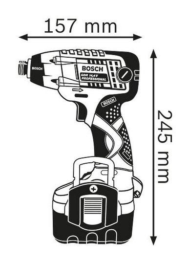 Avvitatore impulsi GDR-14,4V