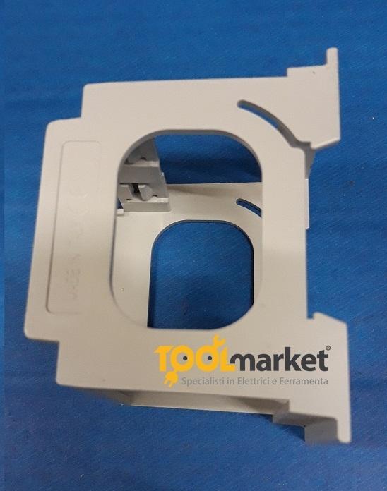 Porta moduli magic con presa shuko per binario DIN 2P+T 2 moduli