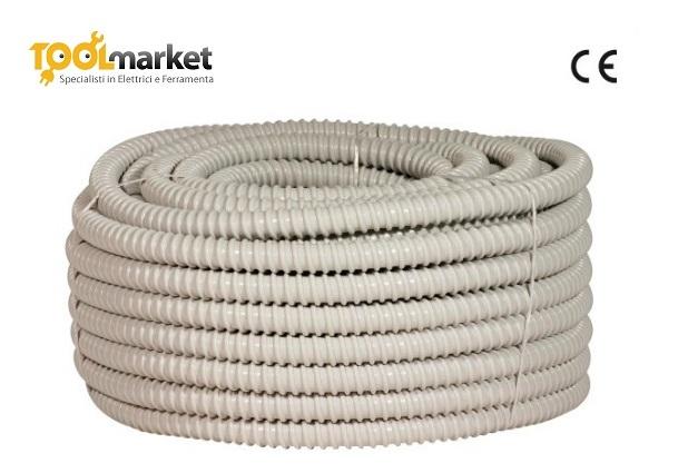 Tubo guaina spiralata da 12mm da 30mt