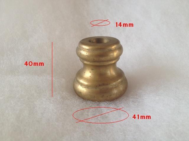 Nodo ottone naturale omot14