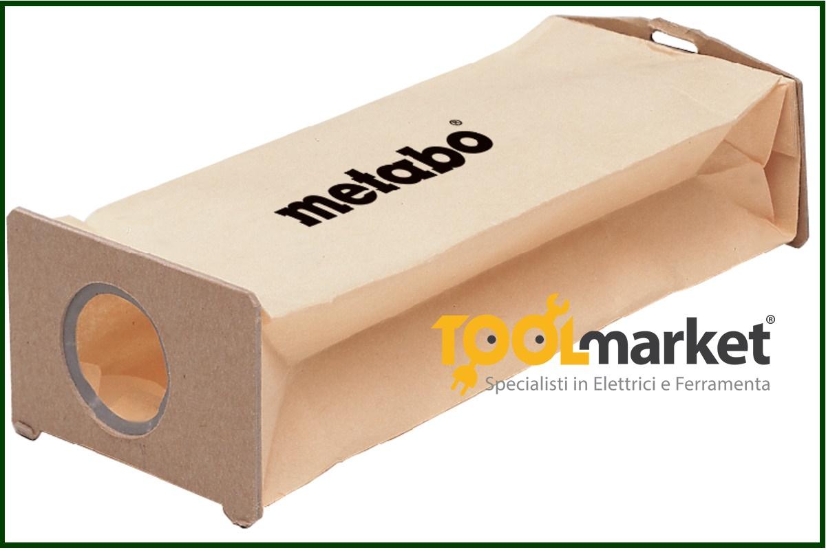 filtro sacchetto Metabo pz 5