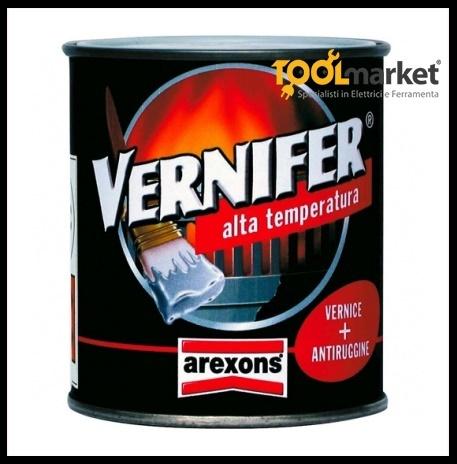 Smalto alta temperatura Vernifer nero ml500