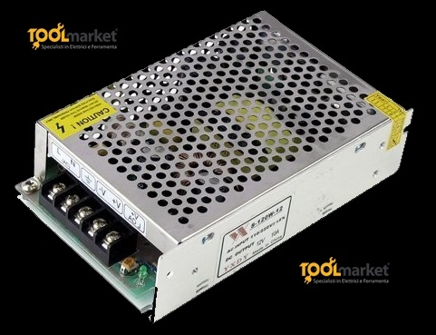 Alimentatore per LED 12Vdc