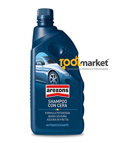 Arexons shampoo con cera autoasciugante 1L