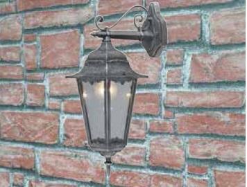 Lanterna Irlanda  in alluminio ghisa