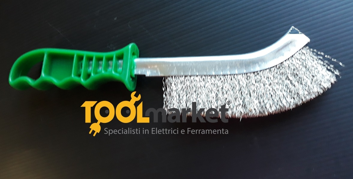 Spazzola manuale in acciaio inox