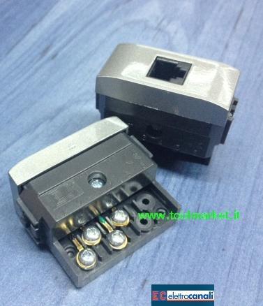 Presa telefono RJ11 LIFE TEC ECL4084TEC