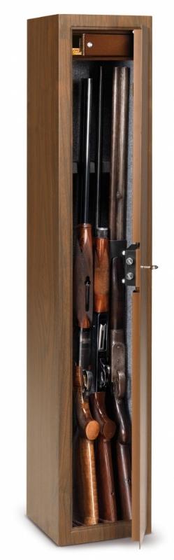 Cassaforte portafucili effetto legno Technomax