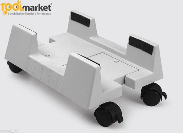 Cpu-stand supporto/carrello con ruote per computer GTV