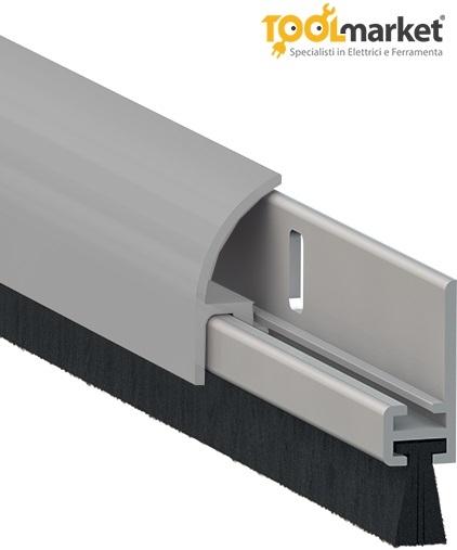 Paraspifferi con profilo scomponibile 120cm modello 1255 Comax