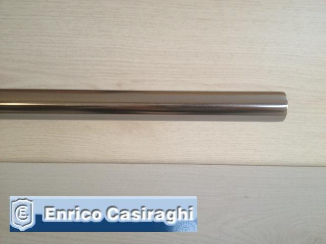 Bastone per tenda diametro 22mm Nikel satinato mt300