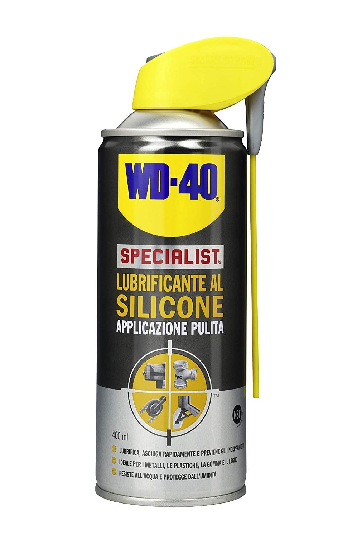 Lubrificante al silicone applicazione pulita specialist - WD-40