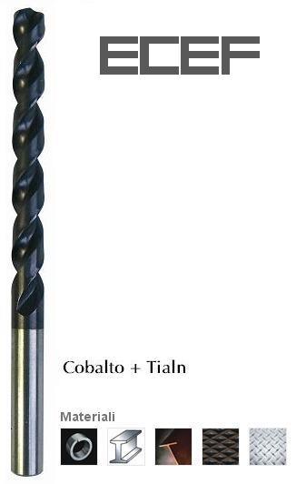 Punte per acciai altolegati Cob+Tialn set 4pz - INECO