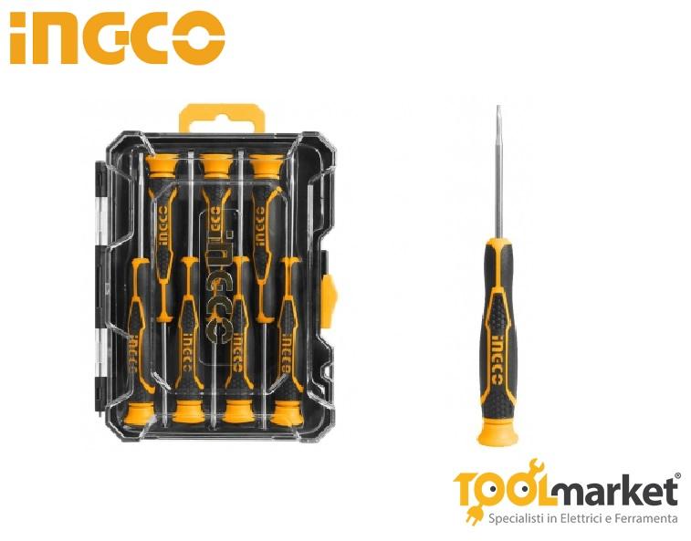 Cacciaviti di precisione set 7 pz INGCO