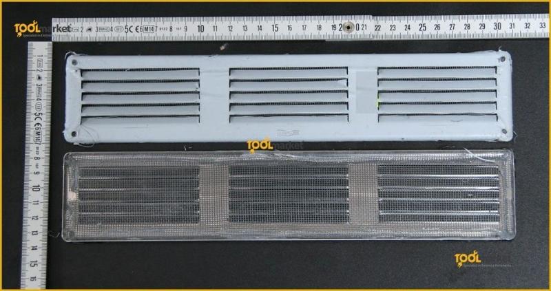 Griglia aerazione inox 300x600
