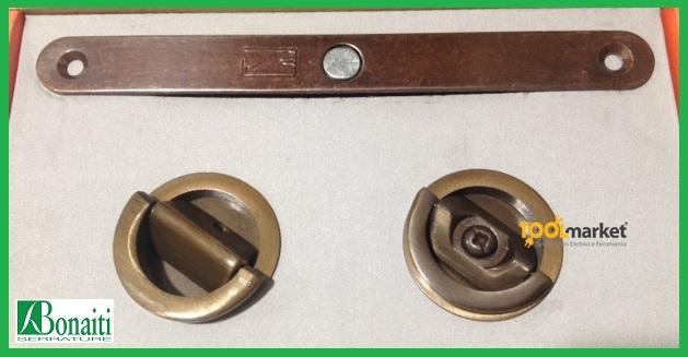 Kit serratura e maniglie per porte libro B63