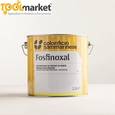 Fosfinoxal -  Antiruggini a solvente ai fosfati di zinco verde reseda Sammarinese