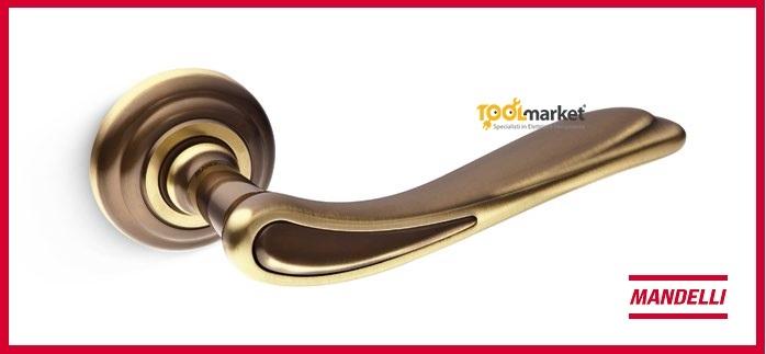 Maniglia Cloe 1011 brunito opaco