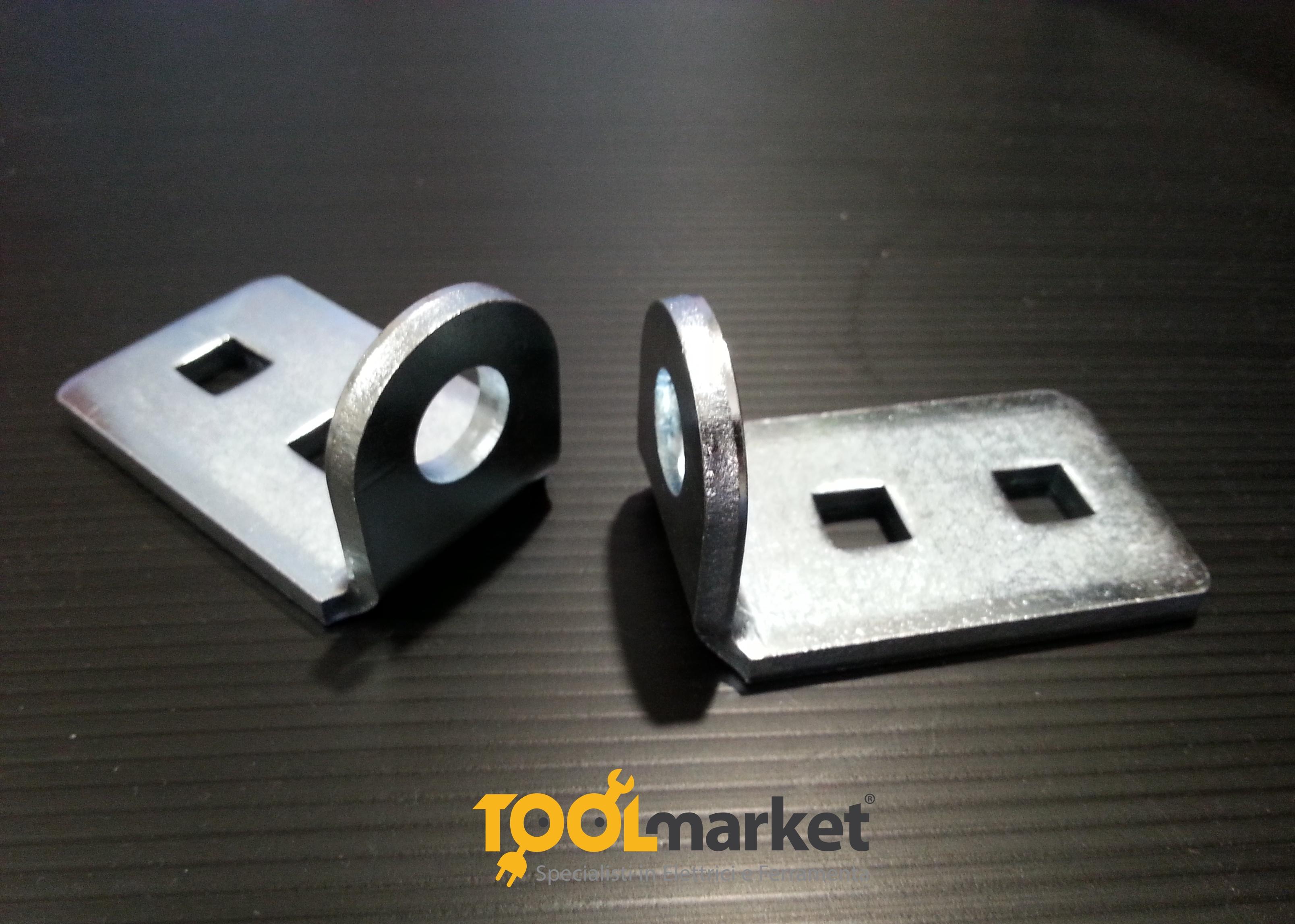 Portalucchetto in acciaio zincato universale