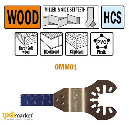 Lama multiutensile OMM01 10mm